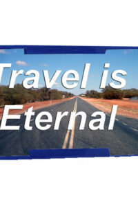 travel is eternal luggage tags
